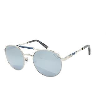 ZILLI Solglasögon Titanacetat Läder Polariserat Frankrike Handgjord ZI 65029 C03