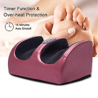 Ноги массаж машины Электрические Шиацу Ноги Массажер Отопление Терапия Массаж ног ролик для помощи ноги Усталость женщины Подарок