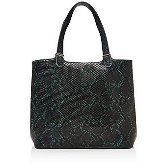 PIECES Pckopa Shopper - Women's Shoulder Bags, Multicolored (Botanical Garden), 17x30x35 cm (B x H T)