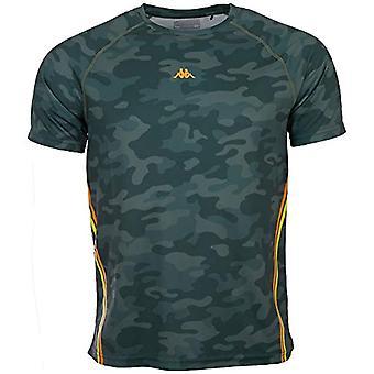 Kappa IRAL Men T-Shirt, Grüne Ente, L Herren