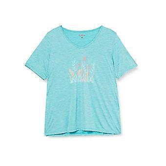 CMP Leichtes Melange-T-Shirt mit bunten Drucken, Donna, Cermanica, D48