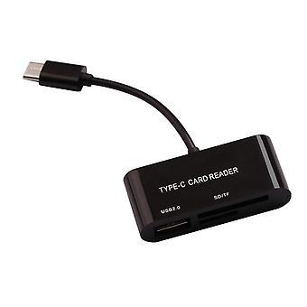 3.1 C típusú kártyaolvasó Usb-c Tf Microsd Sd memóriakártya-olvasó OTG adapter