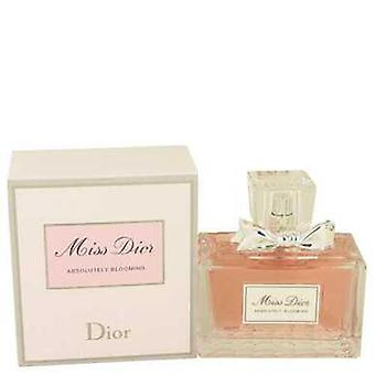 Мисс Диор Абсолютно цветущий Кристиан Диор Eau De Parfum Spray 3.4 Oz (женщины) V728-534296