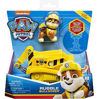 Paw Patrol Rubble Bulldozer Vehicle &Figure Set