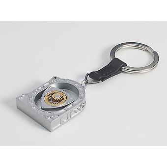 Rotary Engine Evolution Keychain