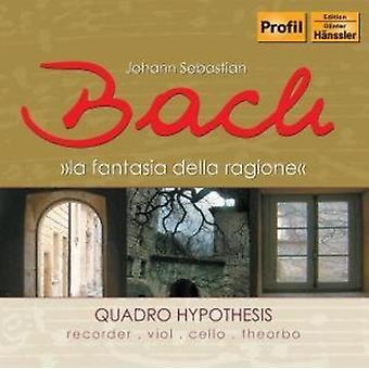J.S. Bach - Bach: La Fantasia Della Ragione [CD] USA import