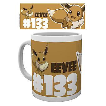 Pokemon Eevee 133 mugg