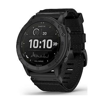 Garmin - tactix Delta Solar GPS Nylon Armband svart 010-02357-11
