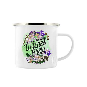 Deadly Detox Witches Brew Enamel Mug
