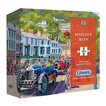 Gibsons Matlock Bath Jigsaw Puzzle en coffret cadeau (500 pièces)