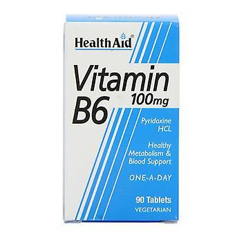 HealthAid Vitamin B6 100mg Tabletten 90 (801075)