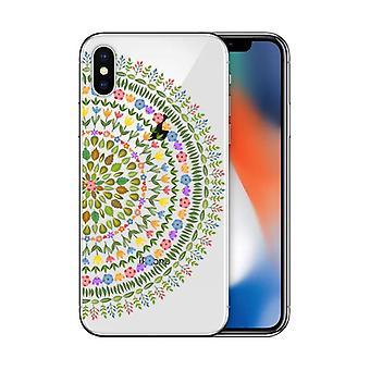 Iphonex peint tpu téléphone mobile shellx / iphone8plus / 7plus transparent totem couverture de protection