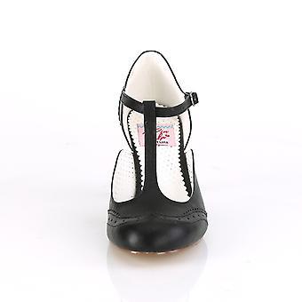 Pin Women's Shoes Up Blk Pu