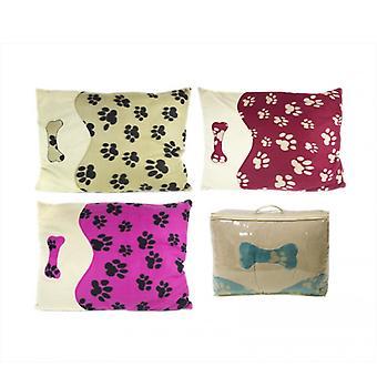 Haven Fleece Pet Poduszka Poduszka Brązowy , Opakowanie 1