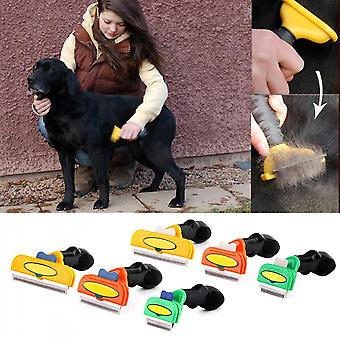 Pet Hair Tool Long Short Grooming Brush Comb For Small Medium&large Dogs Cats