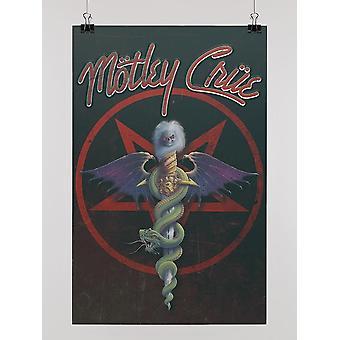 Motley Crue Poster -Motley Crue Mönster