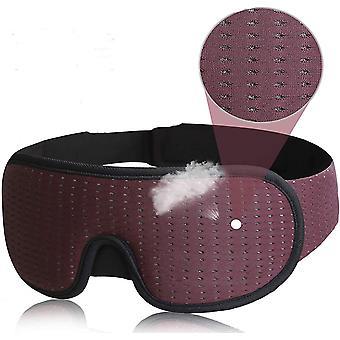 Maska do spania 3D Block Out Light Soft Padded Sleep Mask Eye Shade Blindfold Sleeping Aid Maska na oczy Opaska na oczy