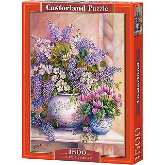 Castorland, Puzzle - Lilac Flowers - 1500 Pieces