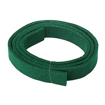 Pianos green spring rail felt strip for piano keyboard replacement 120x2.5cm