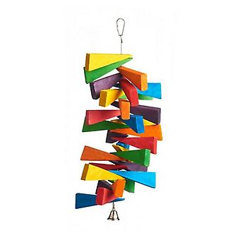 """Prevue Bodacious Bites Slice of Life Bird Toy - 1 Pack - (6.5""""L x 6.5""""W x 16.5""""H)"""