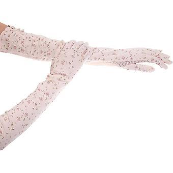 Kenmont Fashion UPF 50+ nyári Sun UV védelem női hosszú ujjú kesztyűk, 2974-17