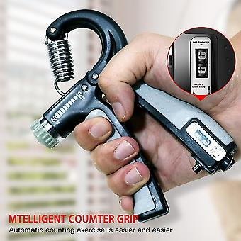 Hand exercisers adjustable heavy gripper fitness muscle hand exerciser grip wrist training grey