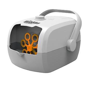 Automatic Bubble Machine One-key Bubble Charging Children's Toy