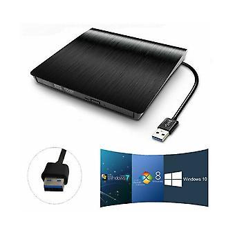 3.0 External Dvd-rw Drive Slim Rw Cd R Burner Copier Reader Rewriter