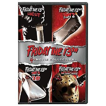 El viernes 13 de importación USA Deluxe Edition Pack cuatro [DVD]