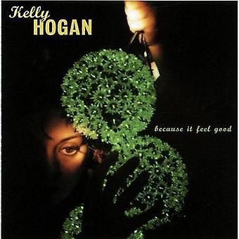 Kelly Hogan - Because It Feel Good [CD] USA import