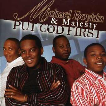 Michael Boykin & Majesty - Put God First [CD] USA import