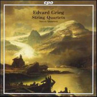E. Grieg - Grieg: importación de USA de cuartetos [CD]