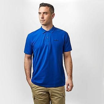 New Peter Storm Men's Short Sleeve Peter Polo T-Shirt Blue