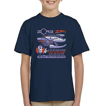 The Fifth Element Zorg Blaster ZF-1 Kid's T-Shirt