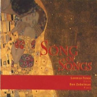 Ponce/Zebelman - Song of Songs [CD] USA import