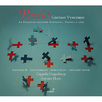 Veneziano, Gaetano / Pe, Raffaele / Cervoni, Luca - Gaetano Veneziano: Passio - La Passione Secondo [CD] USA import