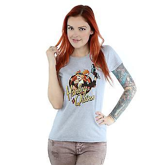 DC Comics DC Bombshells Harley Quinn Badge Frauenunterhemde