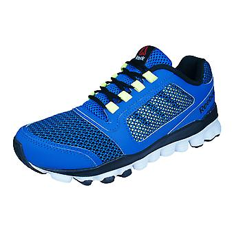 Reebok Hexaffect Storm Junior / Kinder laufen Trainer / Schuhe - blau