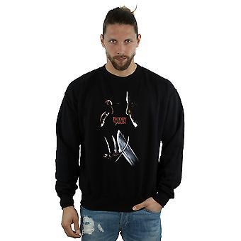 A Nightmare On Elm Street Men's Freddy Vs Jason Sweatshirt