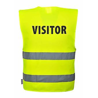 Portwest - gość HI-Vis kamizelki odzieży roboczej