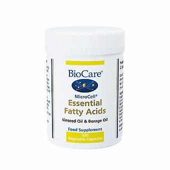 Biocare MicroCell Essential Fatty Acids (linseed oil & GLA), 120 Veg Caps