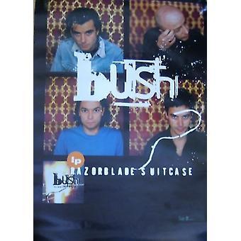 Bush Razorblade Suitcase 2 Poster