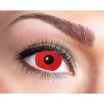 Mini sclera contactlenzen red devil 17 mm