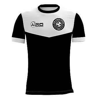 2020-2021 نيوزيلندا مفهوم المنزل لكرة القدم قميص