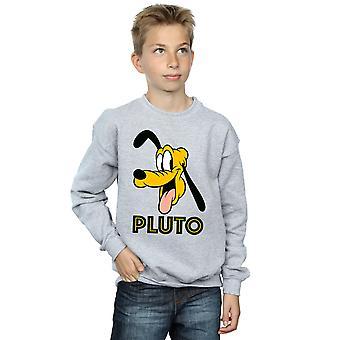 Disney Boys Pluto Face Sweatshirt