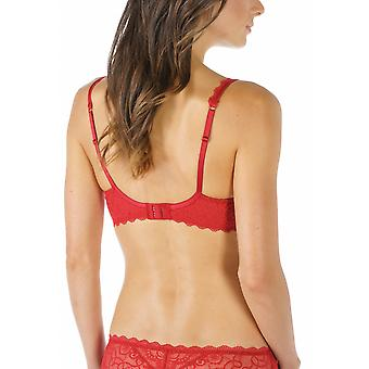 Mey 74801-410 kvinnors Allegra Ruby röd färg bygel Full kopp BH