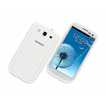 Griffin Reveal Clear Case for Samsung Galaxy S3 (White Trim)