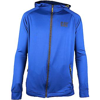 CAT Workwear Mens Contour Polyester Elasthane Full Zip Up Sweatshirt