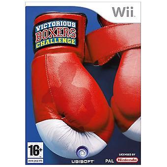 Victorious boxers Challenge (Wii)-nieuw