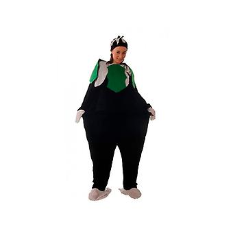 Fat Christmas Pudding Costume